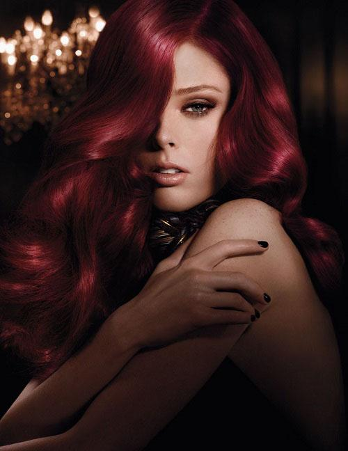 Burgundy hair dye; for anyone who is looking for a sensual and intense ...