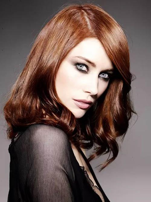 Brown Hair With Red | Dark Brown Hairs