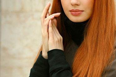 Ginger hair color