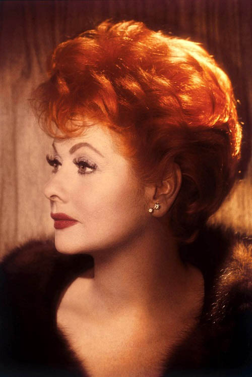 Lucille Ball red hair