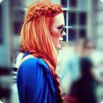 Ginger hair colors ombre