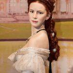 Braided hairstyle as Empress Elisabeth from Austria