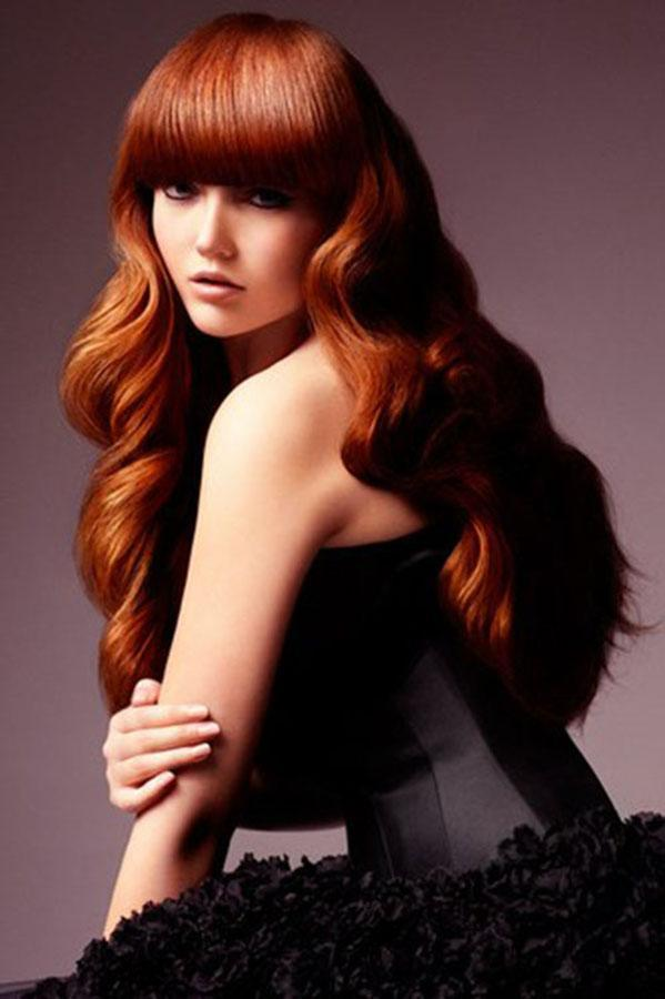 Hairstyles with thick bangs; hairstyle trends * Gorgeous