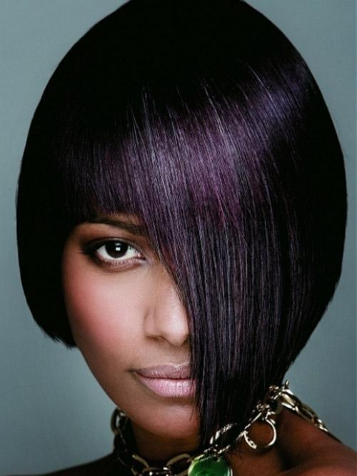 bob hairstyles with plum hair colors gorgeous hairstyles
