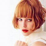Hairstyles with thick bangs; hairstyle trends