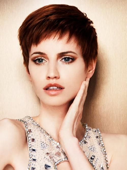 A Red Pixie the Premium classic short haircut Gorgeous Hairstyles & Ha