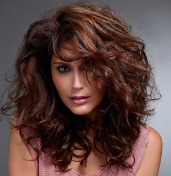 Auburn Hair With Highlights