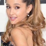 Ariana Grande long curly pony tail 2014 hairstyles
