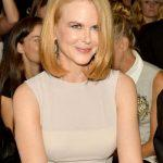 Medium bob hairstyle Nicole Kidman