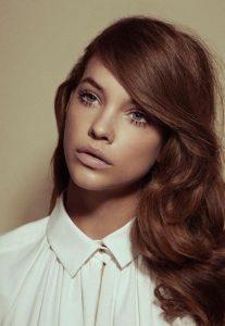 Chestnut brown hair colors
