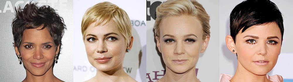 Celebrity short layered hairstyles