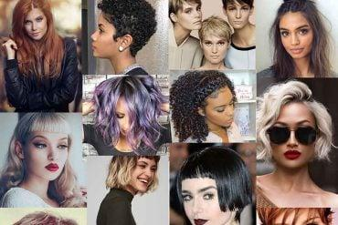 Hair colors and hairstyles fall-winter 2017-2018