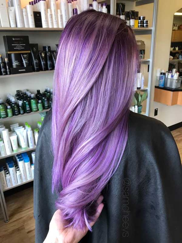 Egg plant hair colors for fall 2017