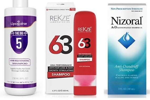 The Best Shampoos with Ketoconazole to treat Hair Loss | Red